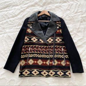 ZARA Blazer Jacket with embroidery detail 🖤